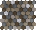 L241711091 FUSION HEXAGON CARAMEL MIX