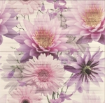 CHINESE ASTERS FLOWER INSERTO декор2
