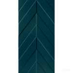 D734 4D.CHEVRON DEEP BLU MATT